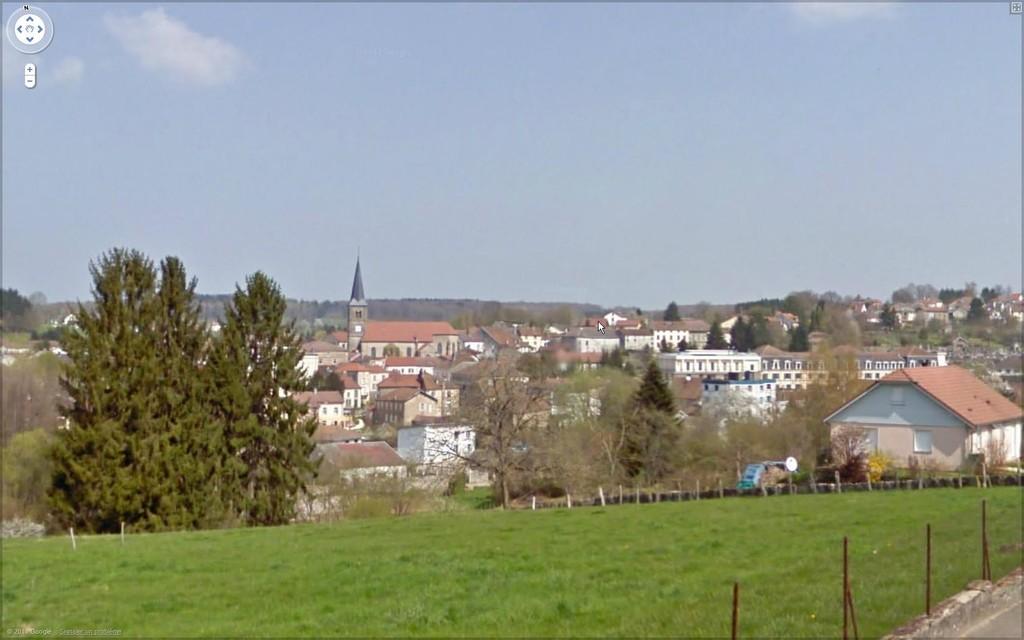 Vue générale de Bains