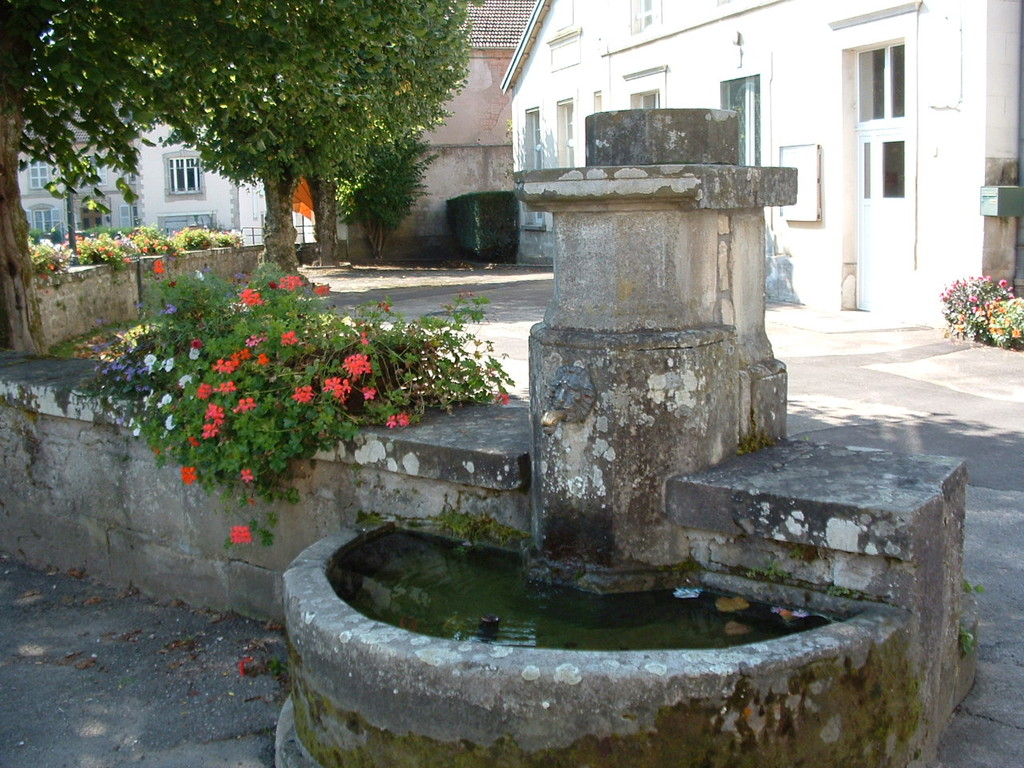La fontaine de l'école maternelle