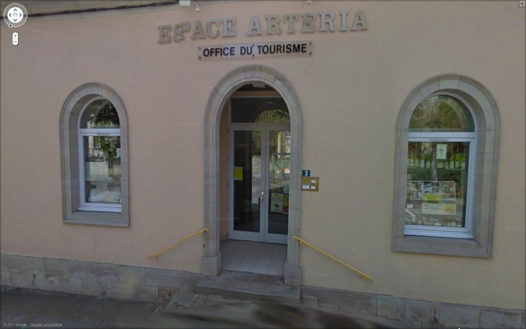 L'Espace Artéria qui accueille le Bureau d'Information Touristique