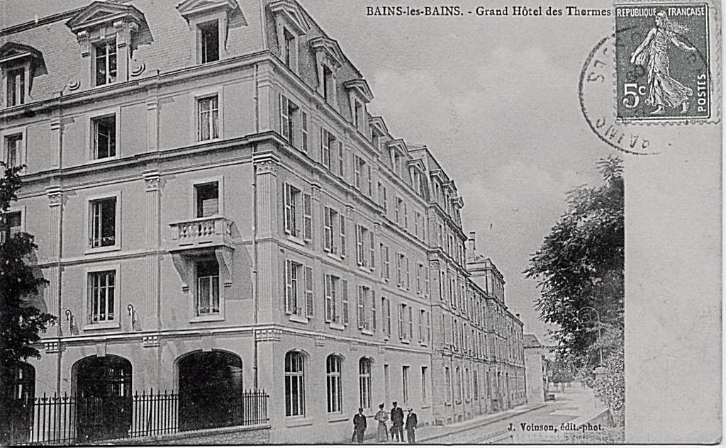 L'Hôtel des Bains - 1884