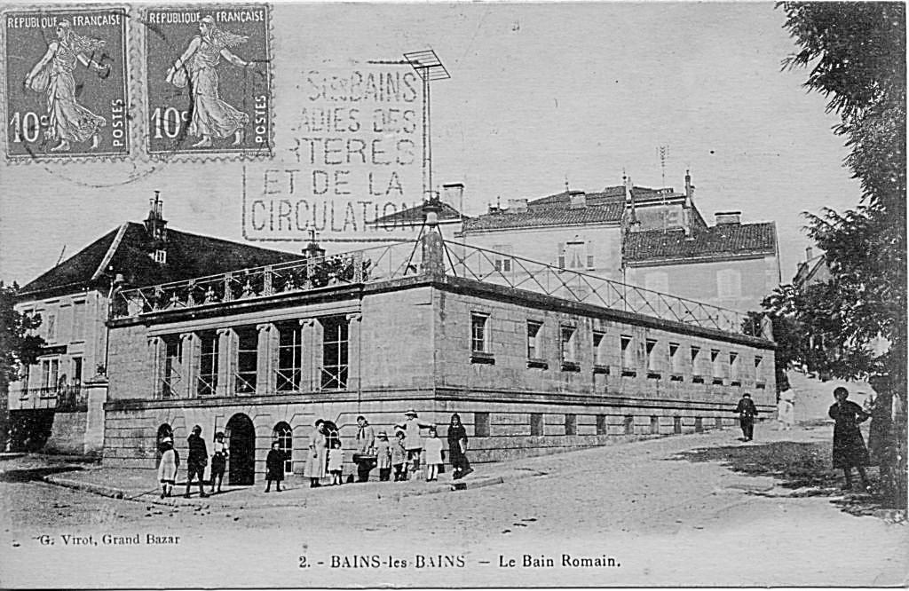 Bain Romain - 1845