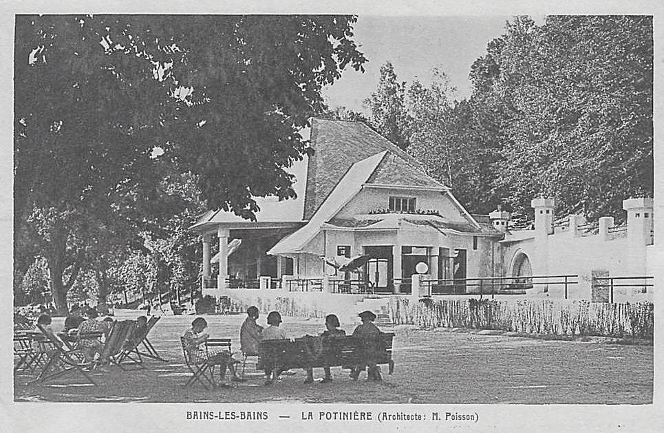 Grand Parc, La Potinière - 1937