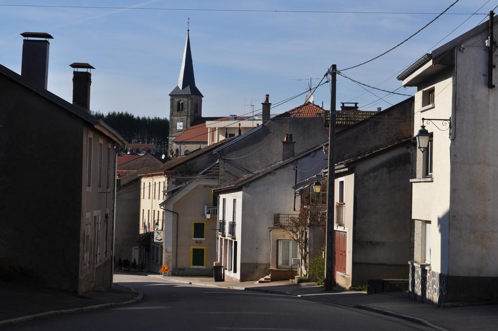 Une ruelle du centre bourg