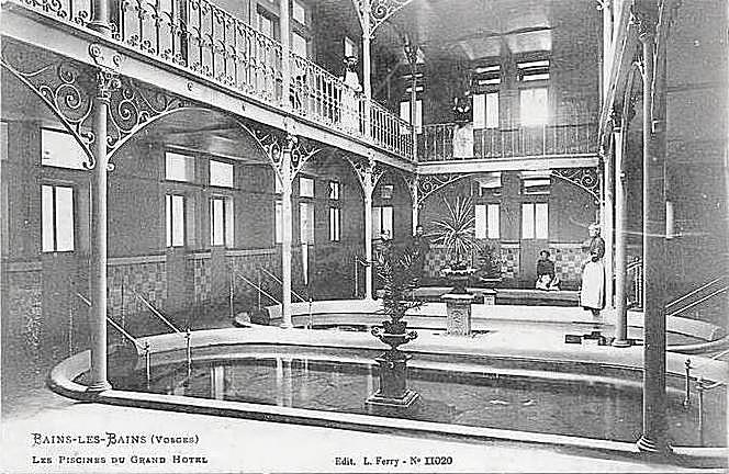 Intérieur du Bain de la Promenade - 1884