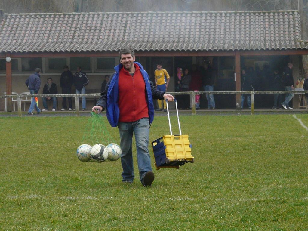 le nouveau coach adjoint...
