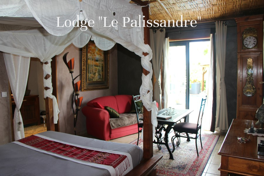 lit 160 king size lodge le palissandre