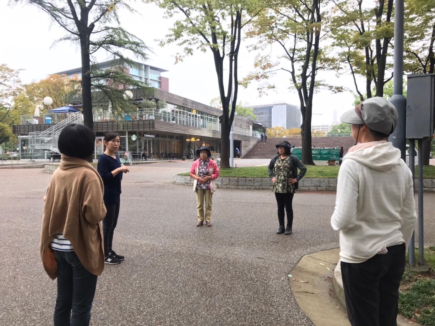 回は名城公園&名古屋城のお堀周りを含め大きく一周します^^