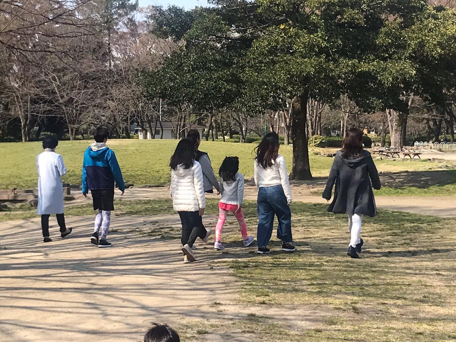 歩き方の練習☆