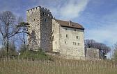 Aussenansicht von Schloss Habsburg.