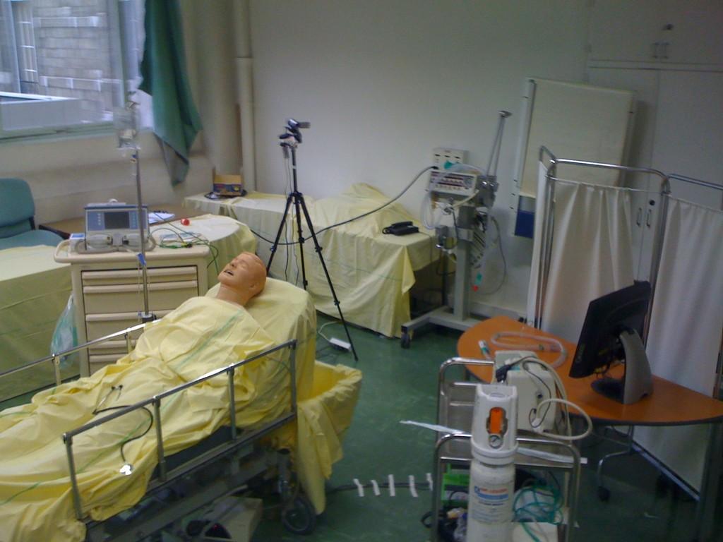 Salle de simulation - Hôtel Dieu