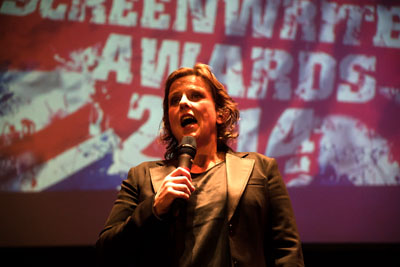 Comedienne, actress and writer Rhona Cameron presented the very first awards.