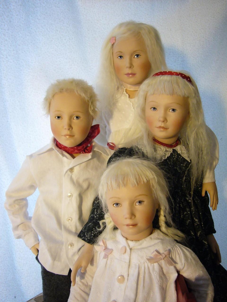 """PONTUS, SUZANNE, LISBETH, BRITA (""""Die Kinders des Malers""""; 4 von 7)"""