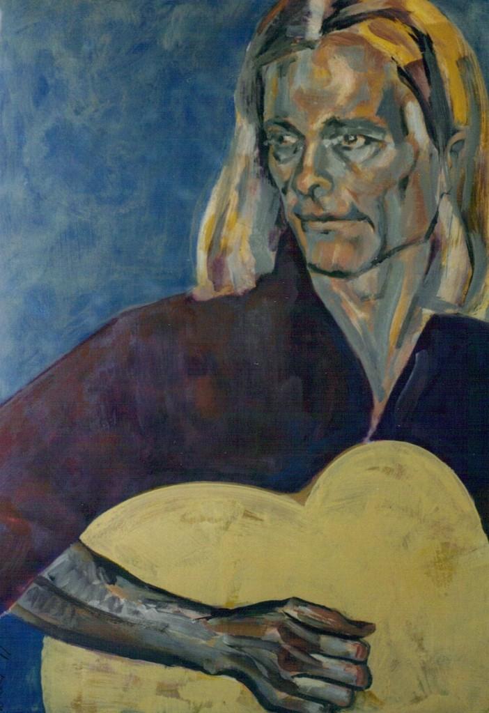 EDMUND   80 x 100   Acryl   1999
