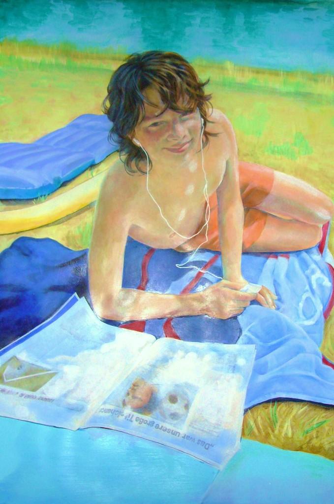 THEO 2008   70 x 100   Acryl   2009