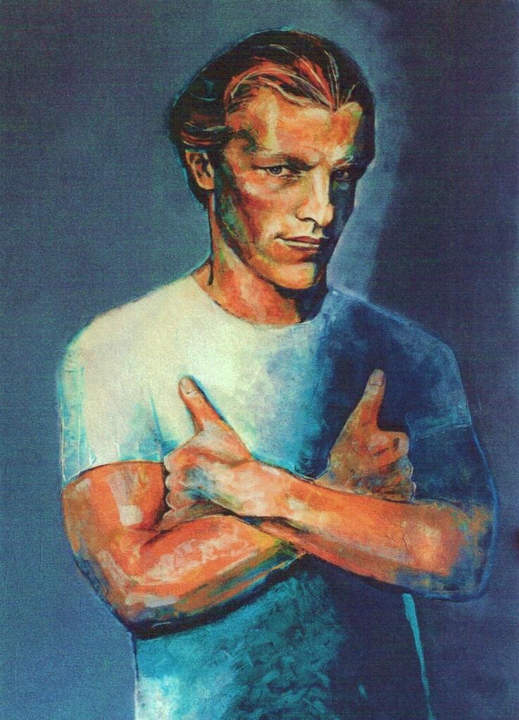 ANDRÉ   80 x 100   Acryl   1999