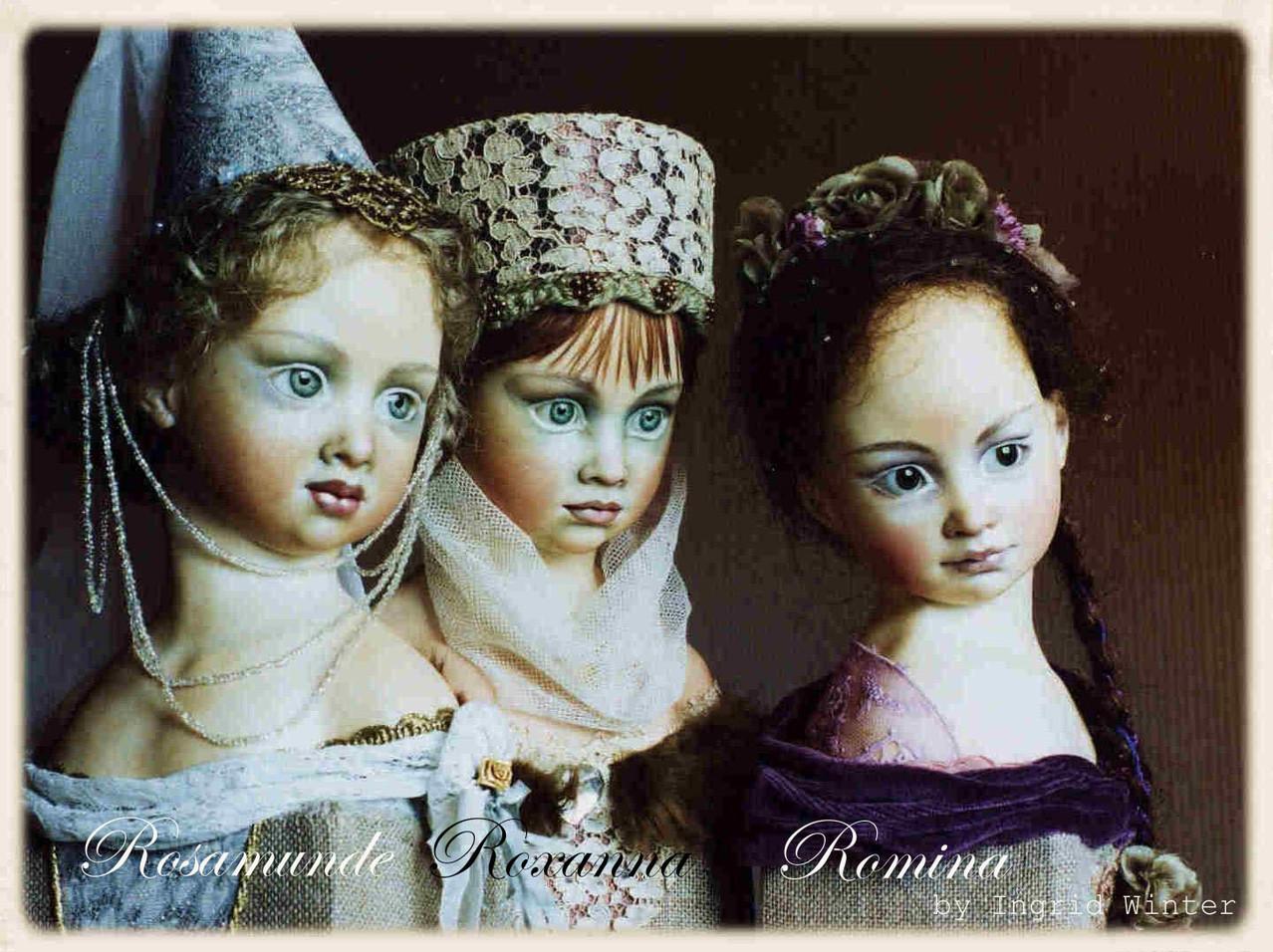ROSAMUNDE, ROXANA, ROMINA