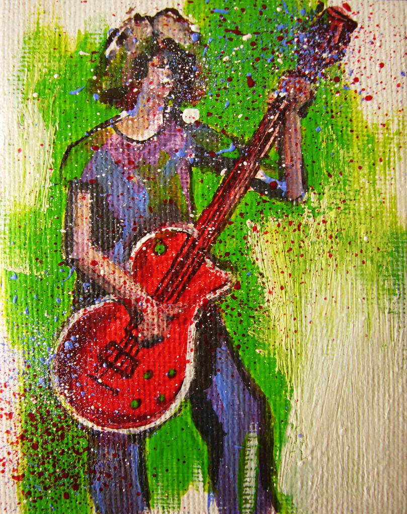 THEOs WISH   7 x 10   Acryl   2011