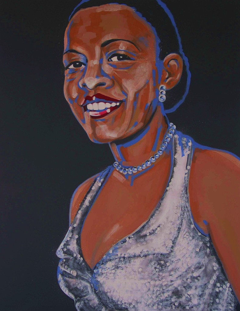BILLIE HOLIDAY   140 x 180   Acryl   3003