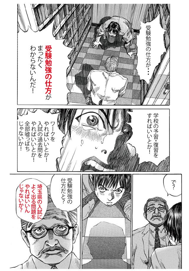 埼玉県公立高校入試頻出データ問題集 漫画