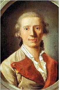 Schiller als Regimentsarzt 1781 in Stuttgart