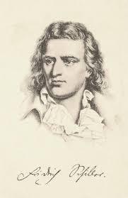 Friedrich Schiller Handzeichnung