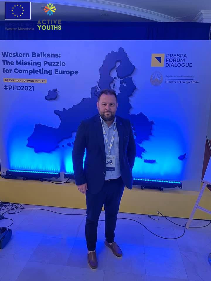 Ο Όμιλος Ενεργών Νέων Φλώρινας συμμετείχε στο Prespa Forum Dialogue 2021