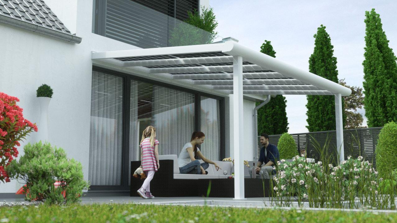 Terrassenuberdachung Preise Alu ~ Alu terrassendach u ac mit solar als sonnenschutz premium