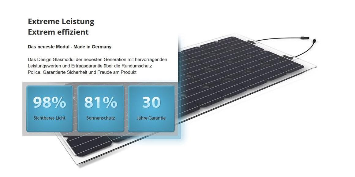 Einkaufswagen-Unterstand mit Solarmodulen