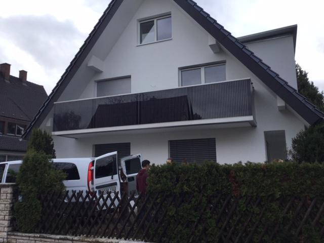 Balkon Solaranlage