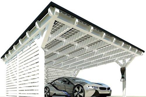 Solarcarport durch die Sonne finanziert. Testsieger mit ➽ TOP ...