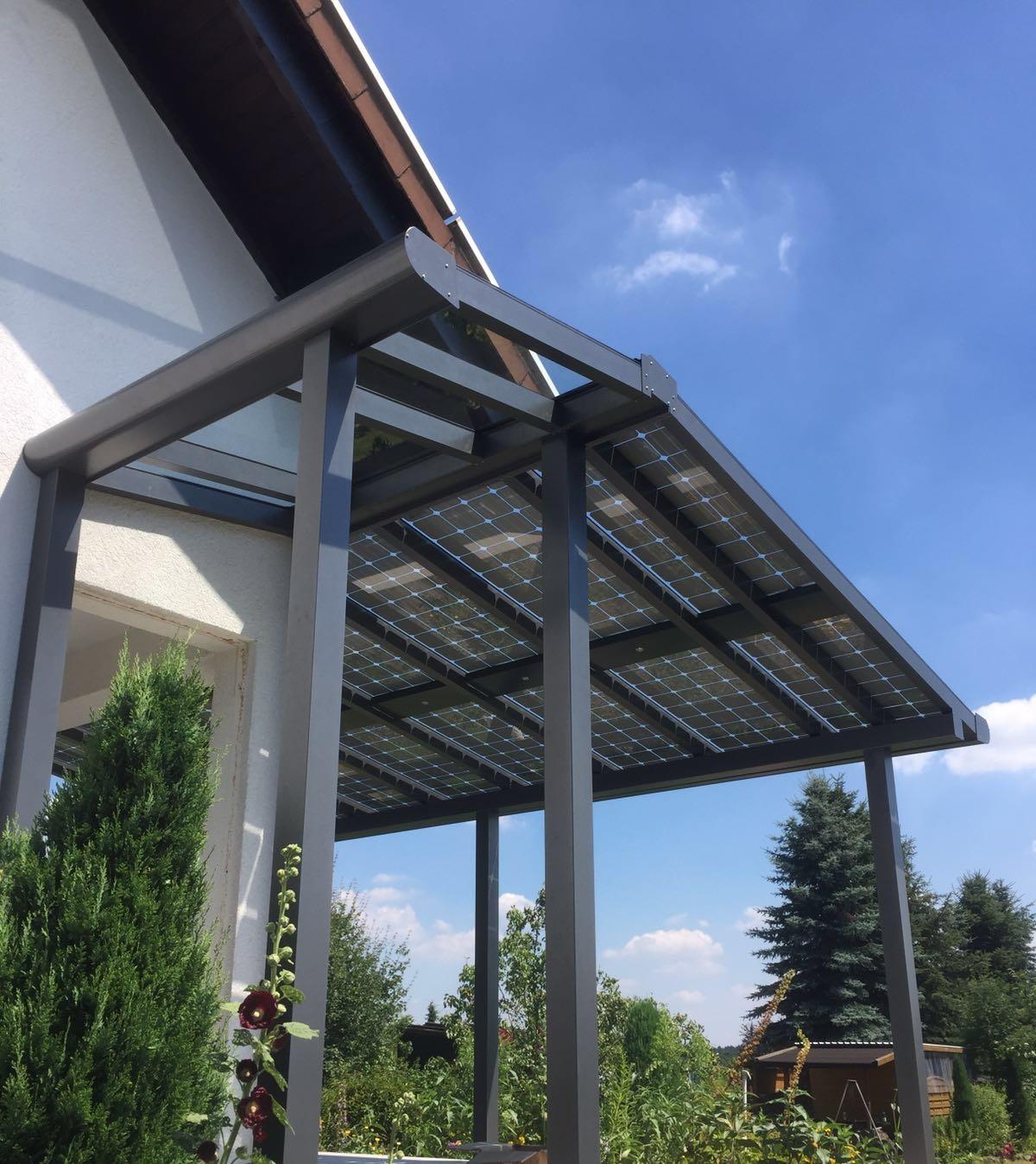 Windergarten mit Solar