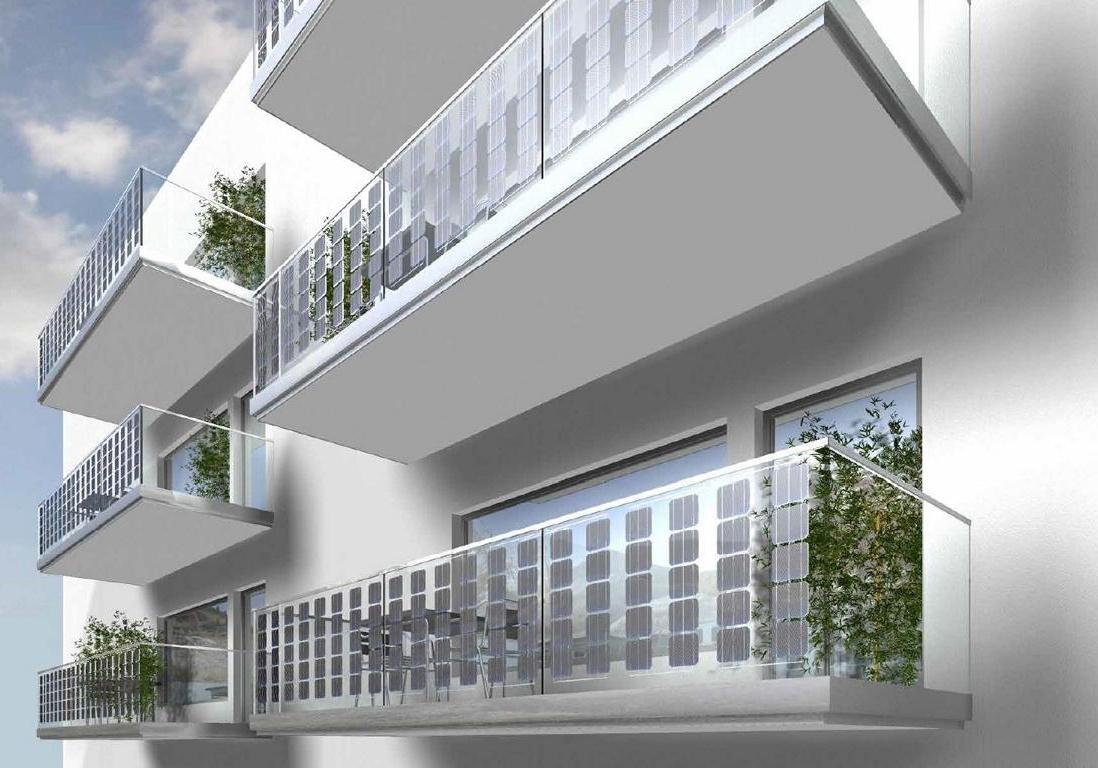 Solar Balkon