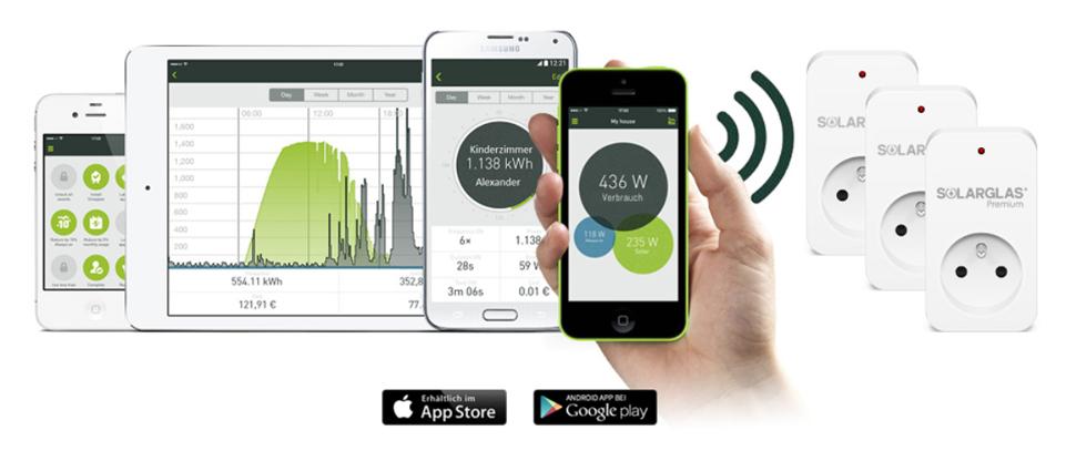 Solarcarport mit APP für Ihr Smart Home