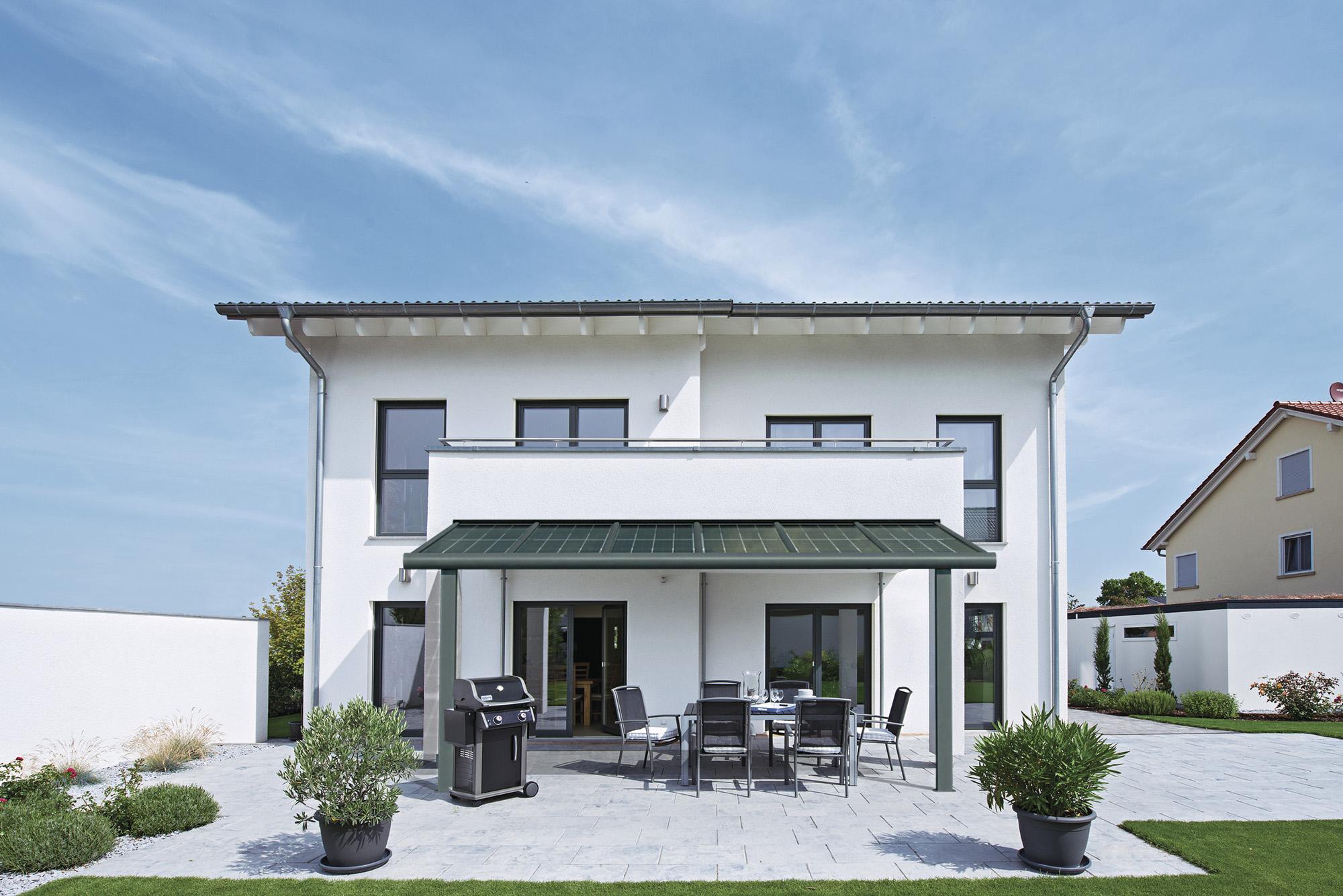 Modern patio roof