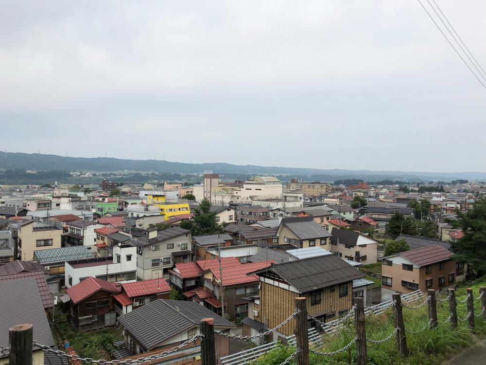 十日町の諏訪様からの景色