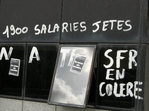 Image grève SFR