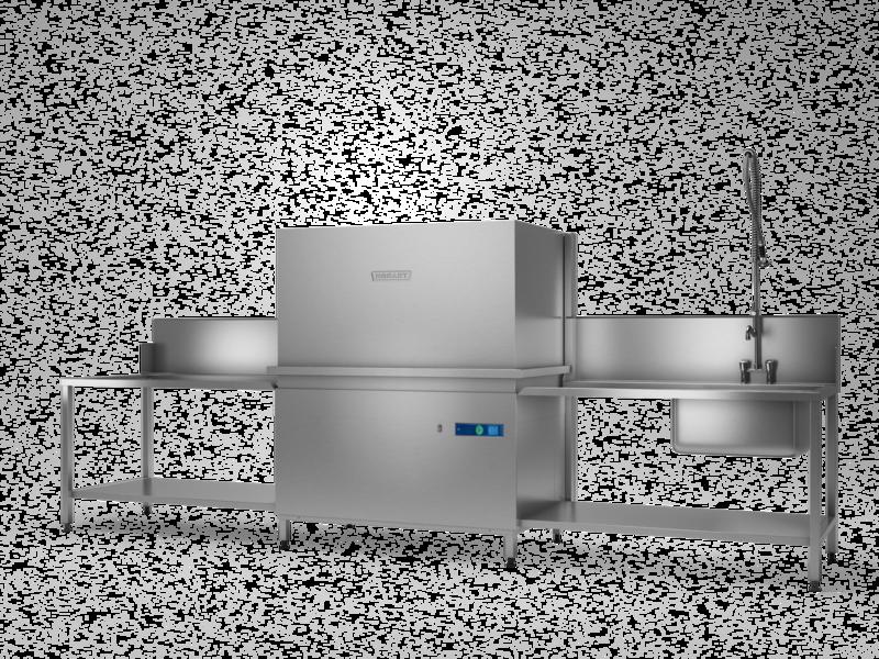 HOBART PROFI UXTH-10A - Universalspülmaschine - Haubenmodelle