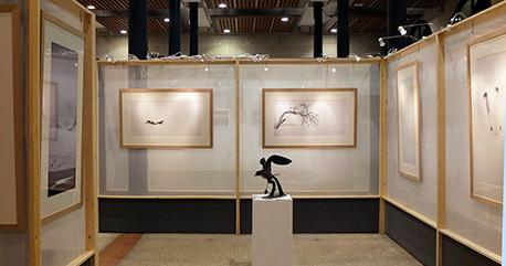 A la Halle au blé les expositions conjointes de Vincent Munier et Matthieu Ricard. C'était une merveille et un énorme succès pour le livre associé. Bravo !