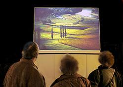 Projection Arbres sur les chemins de la liberté au festival de Montier en Der.