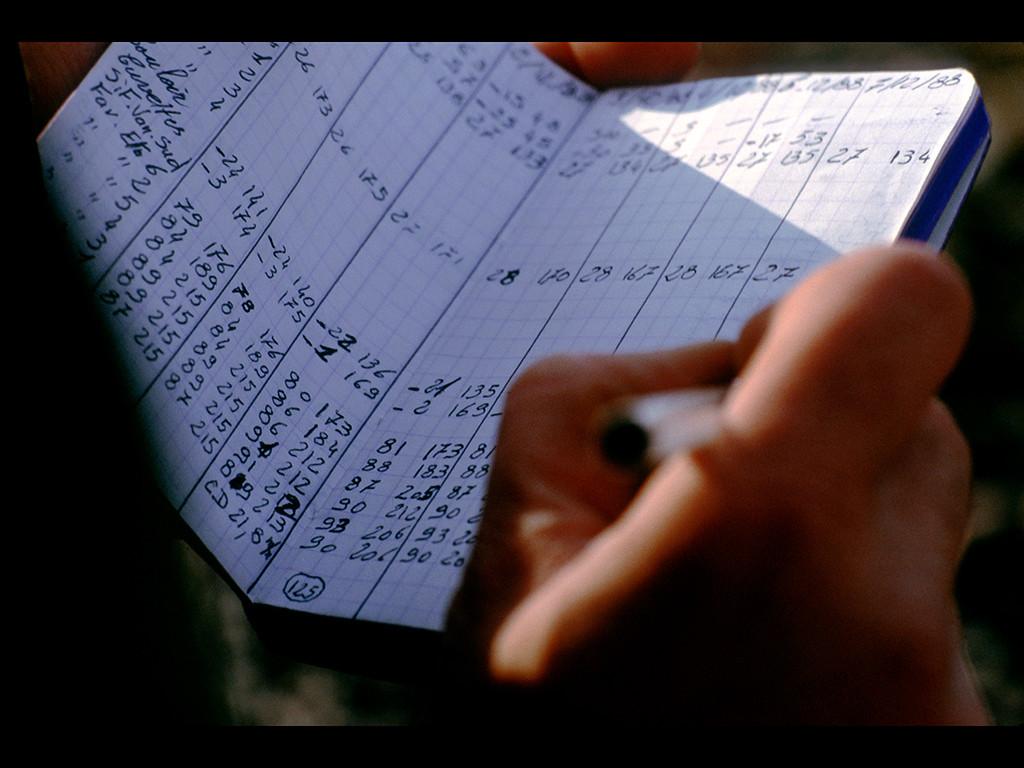 """Les données sont notées. Au retour, elles seront enregistrées """"au bureau""""."""