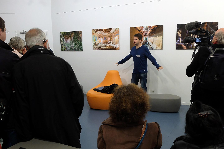 """Remarquable et étonnate exposition """"Les demeures invisibles"""". Son auteur est passionné !"""