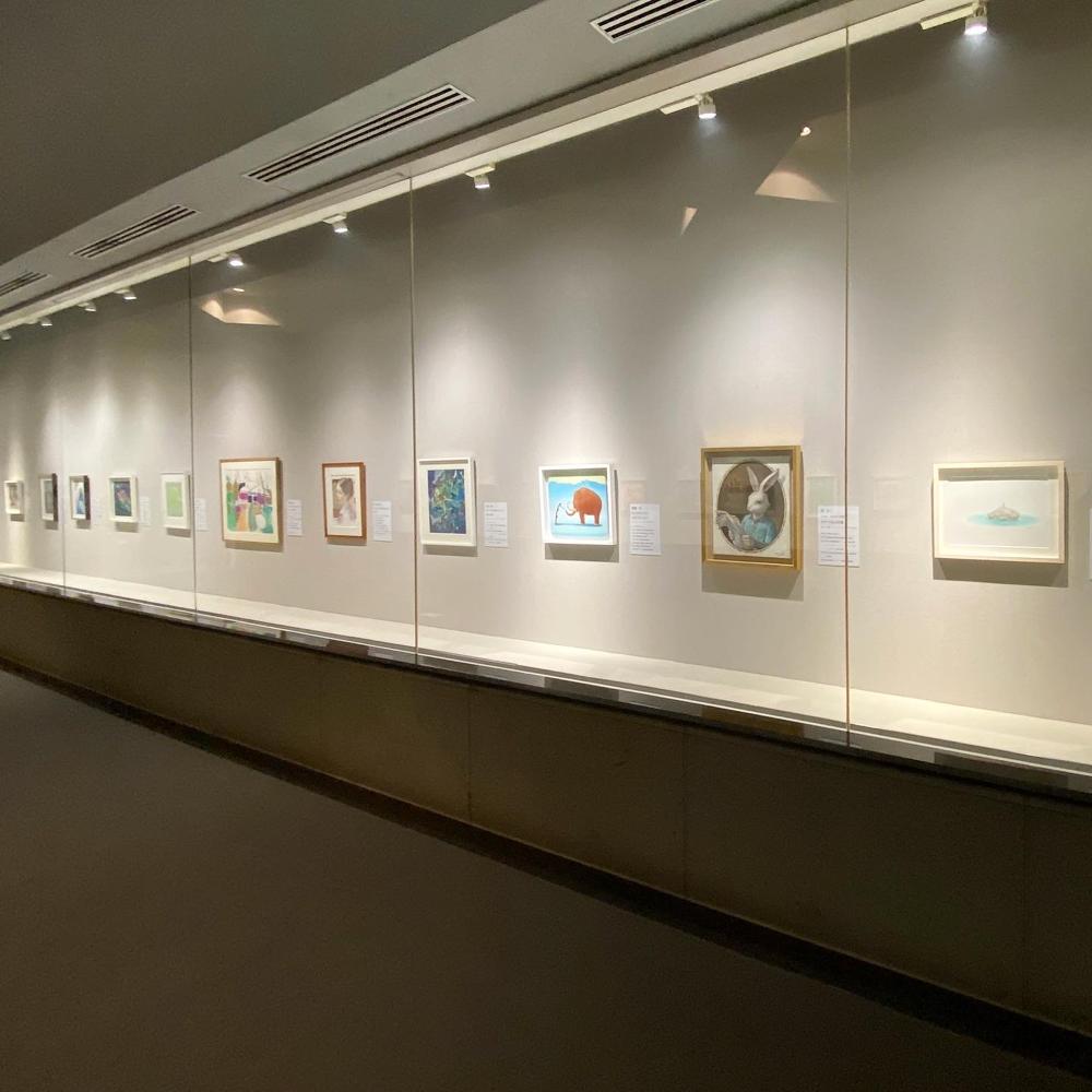 笠間日動美術館、展示風景