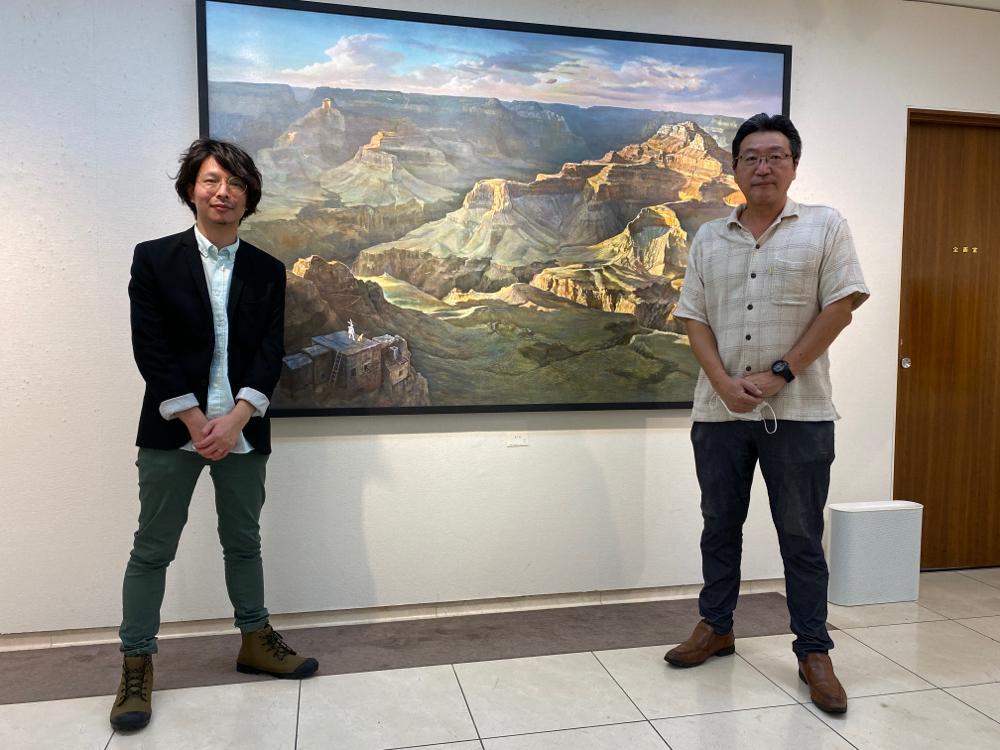 武蔵美の恩師、絵に進むきっかけを下さった水上泰財先生。近々、本を出版されるそうです!
