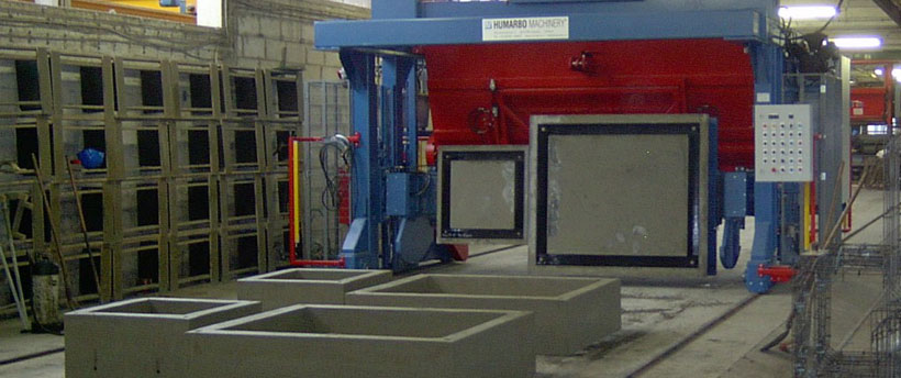 Hersteller Kippformmaschinen - Humarbo
