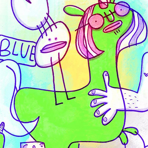 Die Fantasie ist ein Ponyhof