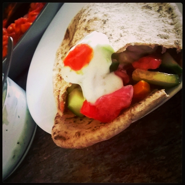 Whole Grain Pita with Wholesome Inner Values