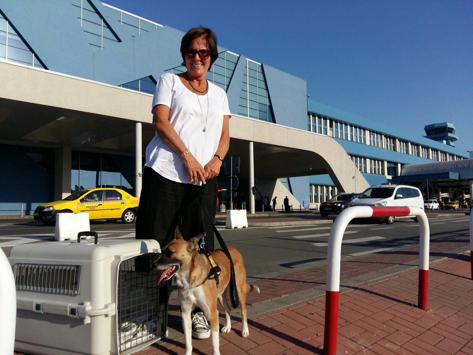 Isabel hat es geschafft, sie konnte mit uns nach Deutschland ausreisen und in ihr neues Zuhause einziehen.