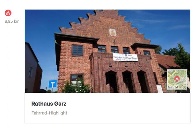 Rathaus in Garz