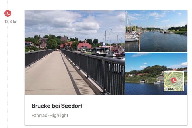 Brücke bei Seedorf