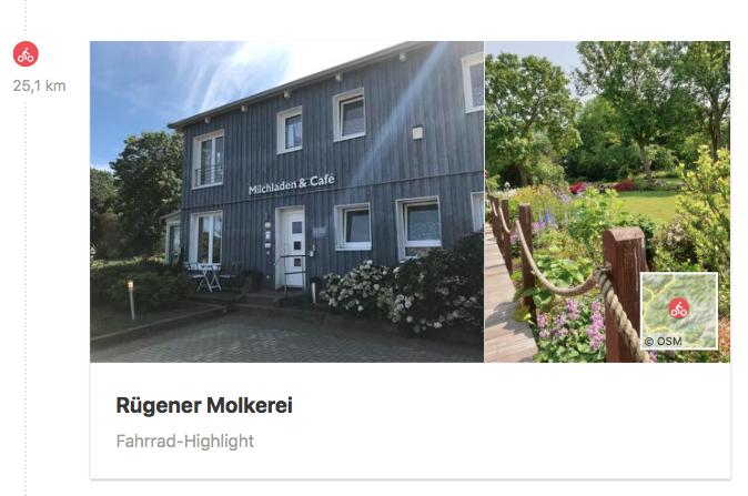 Die Molkerei in Poseritz hat einen Hofladen und ein Café